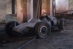 Formula 5 racing car (Rui Almeida Photography) Tags: light shadow wallpaper urban house abandoned car wall architecture vw vintage dark hope ruins alone shadows darkness decay grunge atmosphere racing retro creepy spooky ashes wicked urbanexploration destiny formula motor dust conceptual exploration derelict cobwebs decaying grungy urbex abandonedchurch formulavee urbanexplorer formulav strangephotography frmulav formula5 lotusmotor doorslightframe portugalurbex wwwruialmeidaphotographycom flickrcomruialmeida motor1600vw formula5racingcar frmulavmotor1600vw