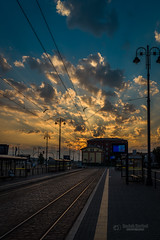 Dramatic sky in the morning (tbnate) Tags: tbnate nikon nikond750 d750 bydgoszcz poland polska sky dramatic sunrise city clouds morning goldenhour lights outdoor outside sun landscape cityscape