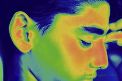 Thinking (csampaiophoto) Tags: pensamento ensaio fotografia cores quentes frias thinking colors portrait