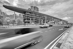 The Linear (JamCanSing) Tags: blackandwhite building sony infrared residential linear upperbukittimah marinabaysands thelinear sonysg sonyalphaprofessionals