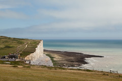 Birling Gap | Seven Sisters walk | July 2016-15 (Paul Dykes) Tags: eastsussex sussex england uk coast coastal walk walking rambling hiking southdowns southdownsway southcoast cliffs sea shore englishchannel seaside sun sunnyday chalk downs hills countryside