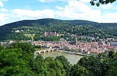 Heidelberg (elke_keller) Tags: castle river germany deutschland explore stadt heidelberg schloss fluss altstadt allemagne neckar stadttor badenwrttemberg heiliggeistkirche stadtansicht altebrcke