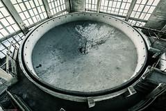 _O7A8940 (AntonyCASAFilms) Tags: urban abandoned monochrome concrete 3d factory belgium exploring plan marshall maze coal escher exploration derelict washing ue urbex
