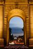 Atardecer en La Puerta (Le2 - www.le2.es) Tags: madrid longexposure sunset atardecer lightroom puertadealcalá nd400 largaexposicion filtrond canon1000d