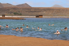 Salt evaporation pond | Marais salant | Salina (carlosoliveirareis) Tags: africa travel people tourism island bath saltevaporationpond