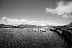 Coal Harbour in Vancouver (dmunro100) Tags: bw vancouver canon eos coalharbor 60d