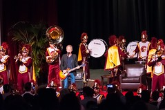 2015_Lindsey_Buckingham_0105 (bchua_90007) Tags: band marching usc lindsey trojan buckingham auditorium tusk 2015 bovard