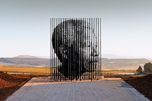 Mandela Sculpture