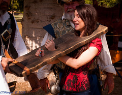 20150516-008.jpg (ctmorgan) Tags: woman cute girl festival stocks fresno pirate fiddle punishment pillory fresnopiratefestival scoldsfiddle