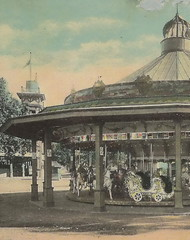AMUSEMENT PARK CLeveland EUCILD BEACH PARK 1st MERRY GO ROUND Carousel installed at the Park was the Philadelphia Toboggan Company Carousel No 9 design in 19054 (UpNorth Memories - Donald (Don) Harrison) Tags: railroad travel carnival heritage history tourism vintage antique michigan postcard memories restaurants depot amusementpark rollercoaster hotels trailer carosel roadside upnorth merrygoround cafes attractions motels cottages cabins campgrounds upnorthmemories rppc wonders michigan michigan memories parks entertainment natural harrison pure roadside travel don tourist puremichigan stops upnorth
