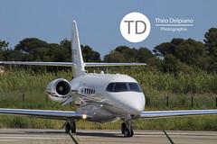 Cessna 680A, N682A (Théo Delpiano) Tags: de airplane airport jet theo aeroport avion hyeres théo aéroport delpiano hyères hueres lfth