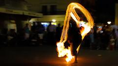 Feuershow (EdiSPix) Tags: show night canon fire eos nacht kos greece griechenland feuer edi schneider 50d edispix