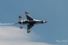 U.S. Air Force Thunderbirds solo