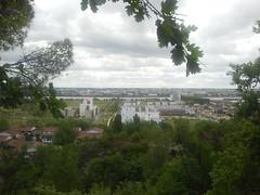 Vue sur la ZAC des Quais depuis le fil vert de Floirac