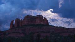 Clouds, Mood, & Rock (ken.krach (kjkmep)) Tags: cathedralrock sedonaarizona