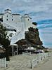 Fortress and church / Tvrđava i crkva (mardukkk) Tags: sea outdoors island greek nikon greece more nikond3200 egean d3200 grčka nikoneurope nikonsrbija nikonserbia grčki