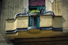 Art Nouveau peacocks (elinor04 thanks for 24,000,000+ views!) Tags: art iron balcony budapest secession nouveau peacocks