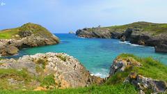 IMG_4155 (49Carmelo) Tags: costa arena rocas horizonte marcantabrico sanjuandelacanal santacruzdebezana playadesanjuandelacanal