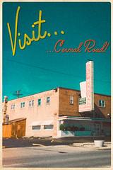Pastiche Postcard (CarusoPhoto) Tags: road old 6 chicago vintage john effects post suburban style polish retro card faux warsaw plus suburb caruso pastiche iphone smorgasbord cermak sawas carusophoto