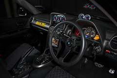Toyota Altezza RS200 Interior. (Andy @ Pang Ket Vui ( shootx2 )) Tags: steering toyota meter altezza rs200 trd boost nardi apexi defi