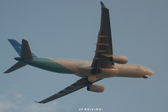 Garuda Indonesia A330-341 PK-GPA (fakhrizainar) Tags: airport airbus a330 balikpapan a330300 skyteam garudaindonesia sepinggan