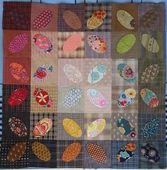 Les ellipses : le retour ! (chabronico) Tags: quilt patchwork ellipses lamaniredevasarely