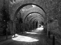Arches (explore) (Robert Barone) Tags: blackandwhite italy rome roma blackwhite italia noiretblanc explore commute biancoenero flneur micro43 flneuring panasonicgm1 panasoniclumixgvario1232f3556