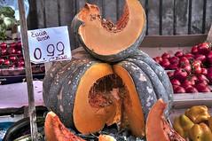zucca rossa (eliobuscemi) Tags: sicily palermo frutta mercato capo zucca rossa verdura