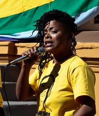 Por Nenhuma Luana a Menos (allansribeiro) Tags: brasil negro preto lgbt movimento violncia feminina ribeiro protesto feminista