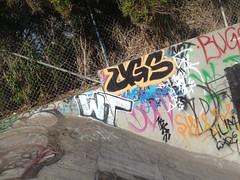 WT .. UGS (beengraffin) Tags: graffiti sandiego crew wtc wt krew ugs wtk ugsc ugsk