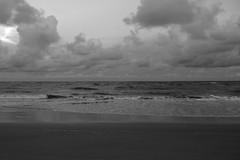 fluid (masande) Tags: ocean beach clouds dusk tide southcarolina atlantic charleston sullivansisland