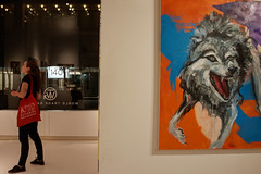 World Trade Gallery Animal Forms (Terese Loeb) Tags: newyorkcity newyork art painting gallery artgallery manhattan exhibit exhibition financialdistrict worldtradegallery