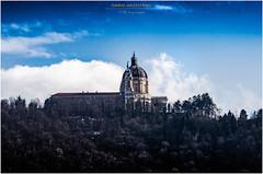 Basilica di Superga - Sky (Dario Gazzitano - Photography) Tags: turin torino sky architecture superga landscape building nikon street