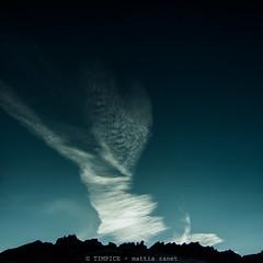 vortice (TIMPICE) Tags: sky mountain clouds landscape nikon nuvole blu cielo d90
