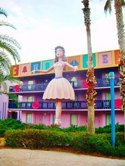 All star hotel (Elysia in Wonderland) Tags: world vacation music holiday star hotel orlando ballerina all florida disney resort fantasia movies 2011