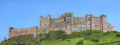 Bamburgh Castle panorama (roderick smith) Tags: northumberland bamburghcastle photoshopcc