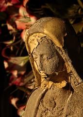 w. Anna (stempel*) Tags: polska poland polen polonia gambezia pentax k30 50mm anna sculpture ann saint wita rzeba old decay