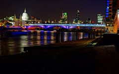 Colours of the Thames (Westhamwolf) Tags: city bridge england london st thames river cathedral pauls walkie talkie