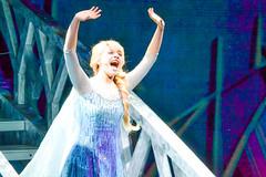 Elsa Rises like the Break of Dawn (chipanddully) Tags: frozen disney dca elsa californiaadventure letitgo hyperiontheater queenelsa liveatthehyperion