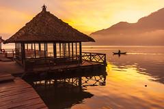 Golden Lake (Pandu Adnyana Photography Tour) Tags: travel bali mountain lake sunrise indonesia boat fisherman tour guide batur balitour balitravelphotography baliphotographytour baliphotographyguide balilandscapetour balilandscapephotography