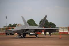 Lockheed Martin F-22A Raptor (Tony Howsham) Tags: canon eos us force martin aircraft air united sigma airshow raptor states lockheed raf fairford riat 2016 raffairford 70d 18250 f22a