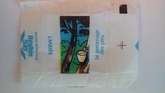 Srie Sud Ouest - Landes - gemmage des pins 01 (periglycophile) Tags: france sugar cube series packet say srie sucre landes sudouest morceaux dpartements sucrology beghin priglycophilie