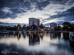 Scandic Park Hotell Sandefjord (ernsterdmann) Tags: hotel hotell sandefjord hdr sunset waterreflections water clouds