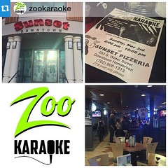 """#Repost @zookaraoke・・・Amazing support from our venue Sunset Pizzeria in Downtown #Henderson. The perfect end to #MayPac weekend is to join us on Sunday from 6pm-10pm for #karaoke, food, and drinks. #vegas • <a style=""""font-size:0.8em;"""" href=""""http://www.flickr.com/photos/131449174@N04/17150353050/"""" target=""""_blank"""">View on Flickr</a>"""