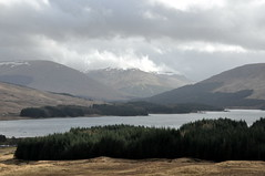 Loch Tulla (agabarka) Tags: mountain lake clouds landscape scotland highland d90 nikon90
