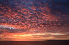 Sunset (Team Hymas) Tags: sunset red sky mexico bay pacificocean babderas