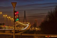 Köhlbrandbrücke - 04041301 (Klaus Kehrls) Tags: wonderful hamburg architektur brücken abendrot betterthangood köhlbtandbrücke nachtaufnahmesn