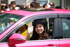 45 / Kobe Matsuri, Festival 2015 (Ogiyoshisan) Tags: girl smile japan japanese outdoor parade kobe