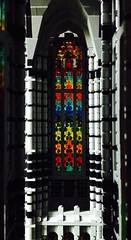 view into the aisle (transept) (lord_tarris) Tags: church lego cathedral gothic stainedglass romanic muntabur
