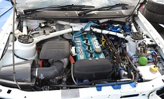 Ford Escort RS Cosworth Engine Bay